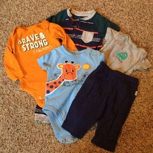 Infant boys mixed lot 3-6 months Bundle only!!!!